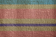 Striped canvas Stock Photo
