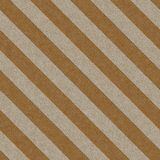 Striped cardboard seamless texture Stock Images