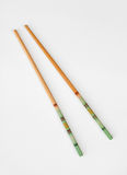 Striped Chinese Chopsticks Royalty Free Stock Photo