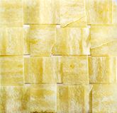 Striped chips. Potato striped chips  texture of close up Stock Photos