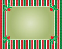 Striped christmas background Stock Images