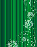 Striped  christmas background  Royalty Free Stock Photography