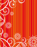 Striped  christmas background. An illustration for yor design project. Very easy to edit  file Stock Image