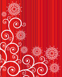 Striped  christmas background  Royalty Free Stock Images