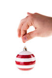 Striped christmas Stock Photography