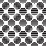 Striped circles Royalty Free Stock Photo