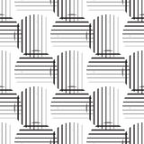 Striped circles Royalty Free Stock Photography
