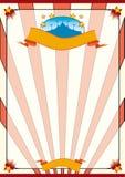 Striped circus Stock Photo