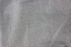 Striped cloth texture details view. Royalty Free Stock Photos