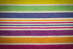 Striped cloth Stock Photography