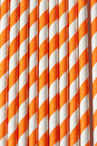 Striped cocktail stick Royalty Free Stock Photography
