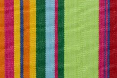 Striped color fabric texture Royalty Free Stock Photos