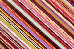 Striped color gift paper Royalty Free Stock Photography