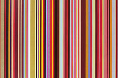Striped color gift paper Stock Images
