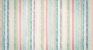 Striped Colorful Fabric Textured Vintage Background Royalty Free Stock Image