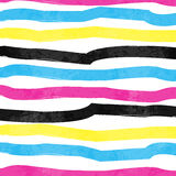 Striped Colorful Pattern Stock Image