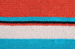 Striped colorful stockinet background Royalty Free Stock Photo