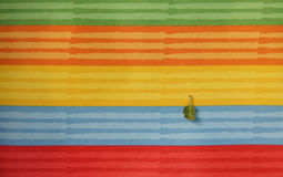 Striped colorful of textile texture Royalty Free Stock Image