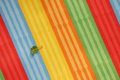 Striped colorful of textile texture Stock Images