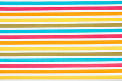 Striped colour texture of a wallpaper Stock Image