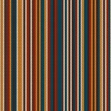 Striped Colourful Knitting Pattern. Seamless Background Stock Photography