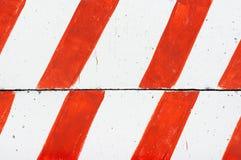 Striped concrete blocks Royalty Free Stock Image