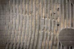 Striped concrete wall background Royalty Free Stock Image