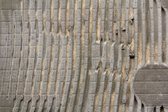 Striped concrete wall background Royalty Free Stock Photography