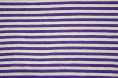 Striped cotton fabric Stock Images