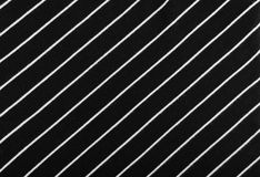 Striped Cotton Fabric Background. Diagonal Striped Cotton Fabric Background. Black and White Textile Pattern. Soft and Comfortable Natural Material Stock Images