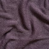 Striped creased violet cloth Stock Photo