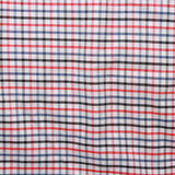 Striped crumpled tablecloth. Royalty Free Stock Images