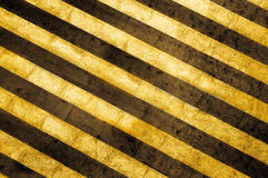 striped cunstruction background Stock Photos