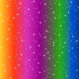 Striped deep rainbow Royalty Free Stock Photo