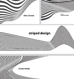 Striped design backgrounds Royalty Free Stock Photo