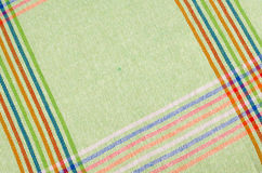 Striped dishtowel Stock Images