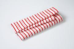 Striped dishtowel Royalty Free Stock Photography