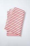 Striped dishtowel Royalty Free Stock Image