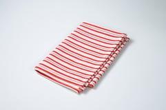 Striped dishtowel Stock Image