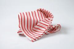 Striped dishtowel Royalty Free Stock Images