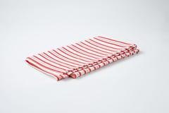 Striped dishtowel Stock Photos