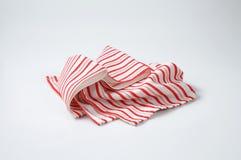 Striped dishtowel Stock Photo