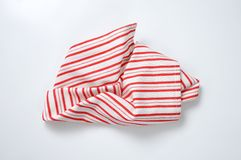 Striped dishtowel Royalty Free Stock Photo
