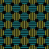 Striped Dots Giant Seamless Texture. Giant dots pattern with vertical and horizontal stripes. Seamless texture background Stock Photo