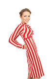 Striped dress Stock Image