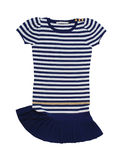 Striped dress Royalty Free Stock Images