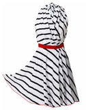 striped dress Stock Images