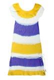 striped dress Stock Image