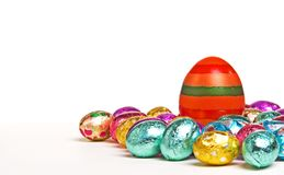 Striped Easter Egg Stock Photos