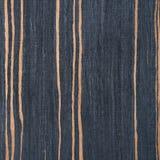 Striped ebony wood texture Stock Image